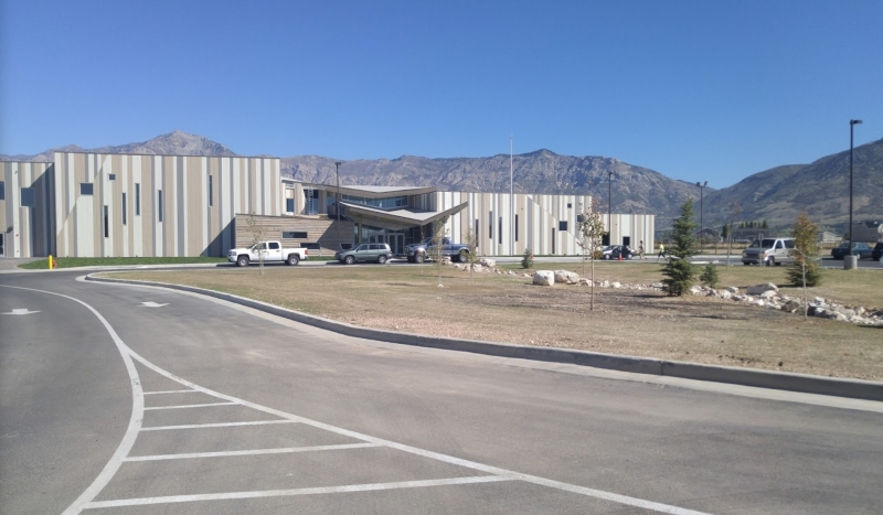 Charter School - Greenwood Ogden, UT - Parking lot view2 (small)